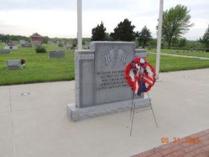 The Wills Cemetery Veterans Memorial